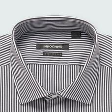 Black shirt - Helston Striped Design from Premium Indochino Collection