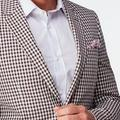 Red suit - Checked Design from Seasonal Indochino Collection