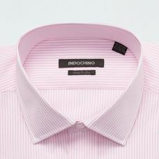 Pink shirt - HARROW Striped Design from Premium Indochino Collection