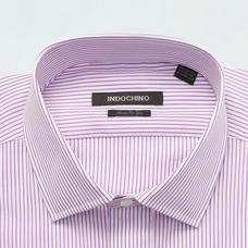 Purple shirt - Striped Design from Premium Indochino Collection