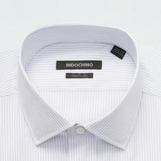 Gray shirt - Harrow Striped Design from Premium Indochino Collection