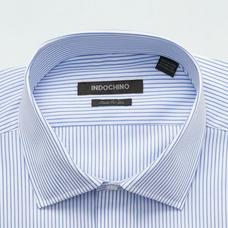 Blue shirt - HARROW Striped Design from Premium Indochino Collection