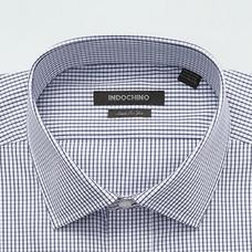 Black shirt - HARLOW Checked Design from Premium Indochino Collection