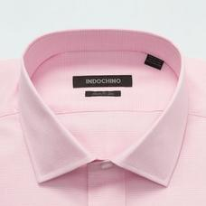 Pink shirt - Plaid Design from Premium Indochino Collection