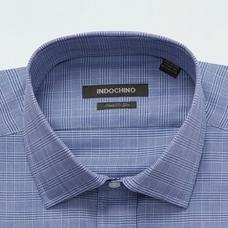 Blue shirt - Hadleigh Plaid Design from Premium Indochino Collection
