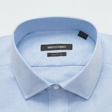 Blue shirt - Solid Design from Premium Indochino Collection