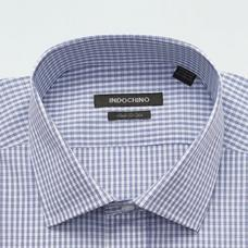 Blue shirt - Checked Design from Seasonal Indochino Collection