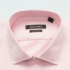 Pink shirt - DOVER Solid Design from Seasonal Indochino Collection