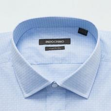 Blue shirt - ASHINGTON Solid Design from Seasonal Indochino Collection