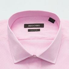 Pink shirt - Ashington Solid Design from Seasonal Indochino Collection