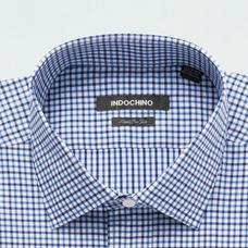 Blue shirt - STRATFORD Checked Design from Seasonal Indochino Collection