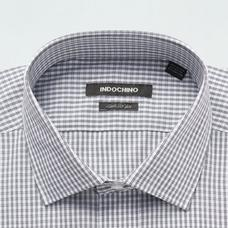 Black shirt - Checked Design from Seasonal Indochino Collection