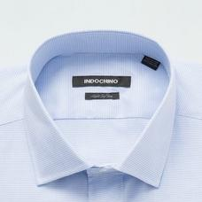 Blue shirt - KIRKHAM Checked Design from Seasonal Indochino Collection