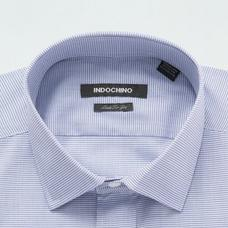 Blue shirt - Kirkham Solid Design from Seasonal Indochino Collection