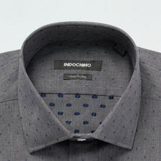 Gray shirt - Pattern Design from Seasonal Indochino Collection
