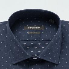 Navy shirt - Pattern Design from Indochino Collection