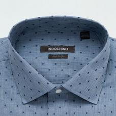 Blue shirt - Pattern Design from Seasonal Indochino Collection