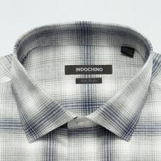 Gray shirt - KEMPSTON Checked Design from Seasonal Indochino Collection