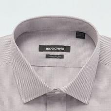 Brown shirt - Kirkham Solid Design from Seasonal Indochino Collection