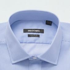 Blue shirt - Hyde Striped Design from Luxury Indochino Collection