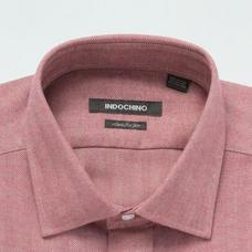Red shirt - DOXFORD Herringbone Design from Seasonal Indochino Collection