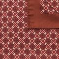 Red pocket square - Pattern Design from Indochino Collection
