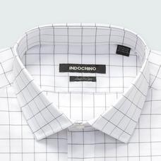 Black shirt - Hedon Checked Design from Premium Indochino Collection
