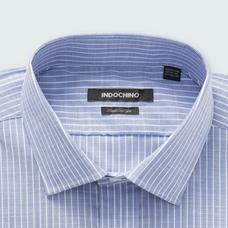 Blue shirt - HOLT Striped Design from Premium Indochino Collection