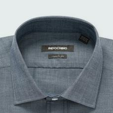 Blue shirt - Solid Design from Seasonal Indochino Collection