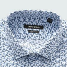 Blue shirt - SAXBY Pattern Design from Seasonal Indochino Collection
