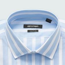 Blue shirt - Stroud Striped Design from Seasonal Indochino Collection