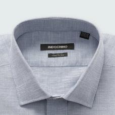 Navy shirt - SUDBURY Checked Design from Seasonal Indochino Collection