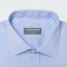 Blue shirt - Helmsley Solid Design from Premium Indochino Collection