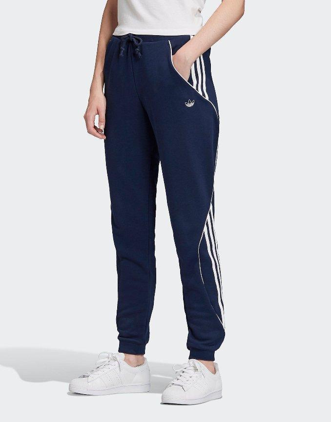 calças de fato de treino adidas Originals para mulher
