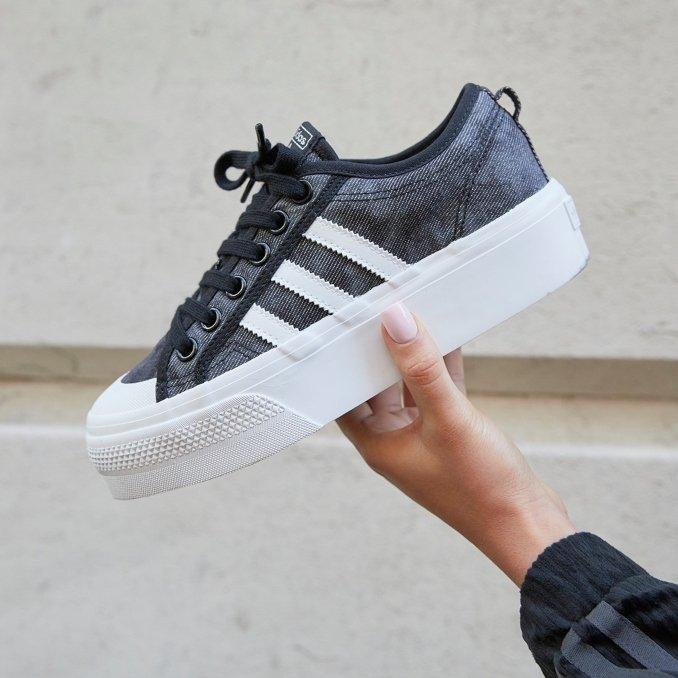 Adidas Originals Nizza Platform Grey