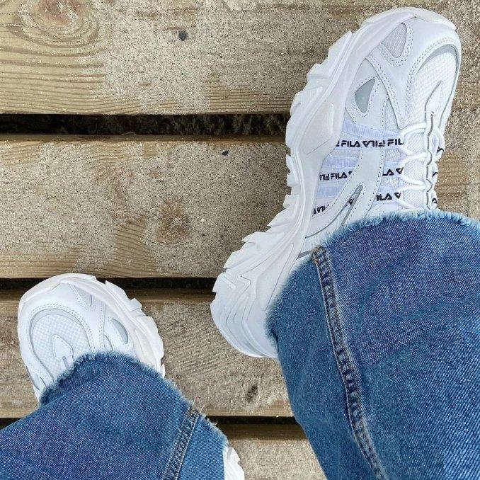 Fila Electrove on feet