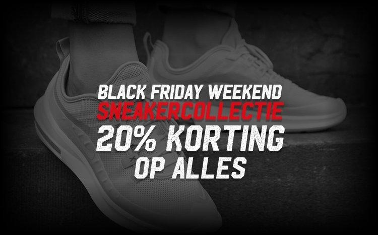 Black Friday Weekend 20% korting op alles!   Aktiesport