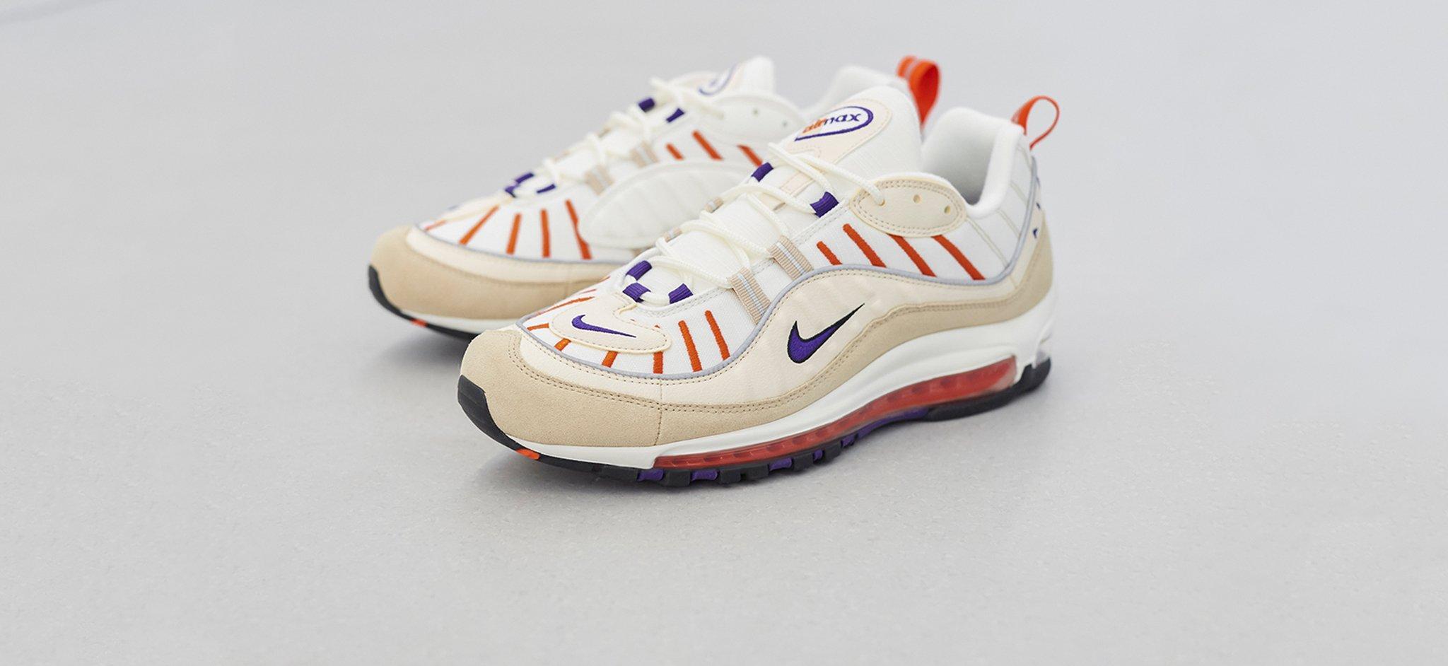 824113438b3874 Nike Air Max 98 - Desert Ore