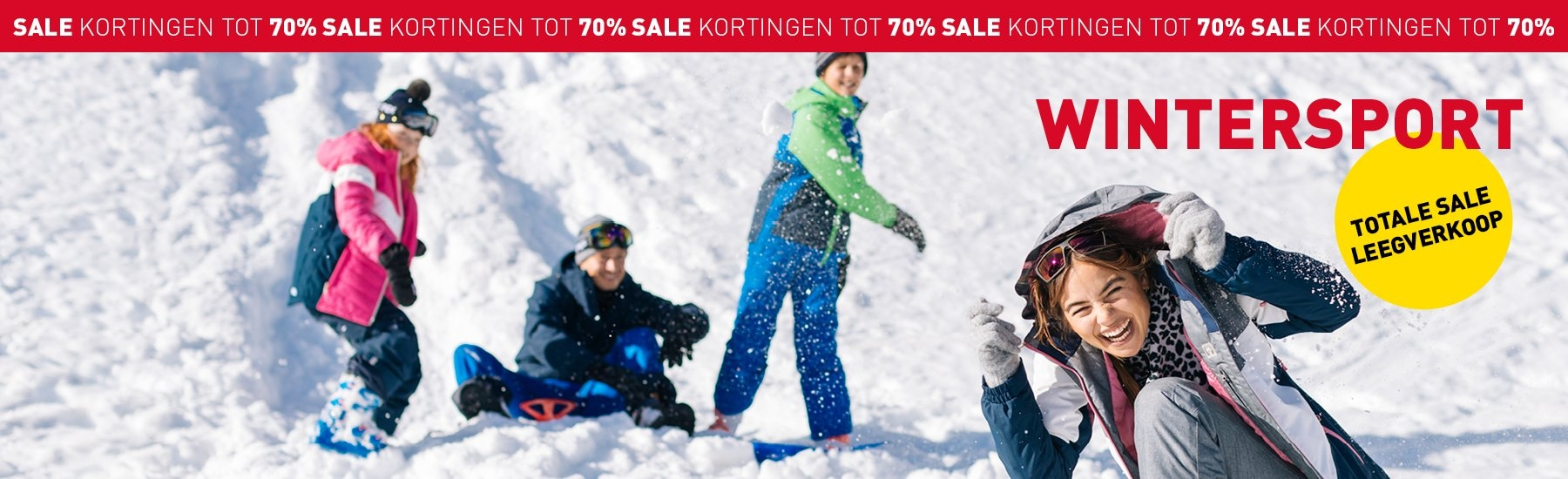 wintersport sale