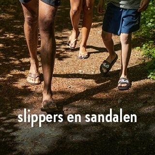 slippers en sandalen
