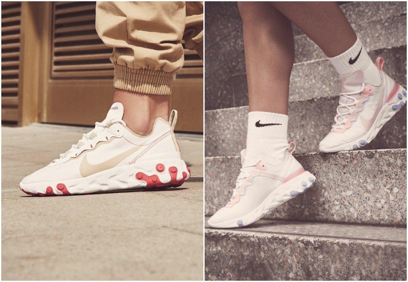 Nike React Element 55: storia e recensioni di come calzano  xfdIGY
