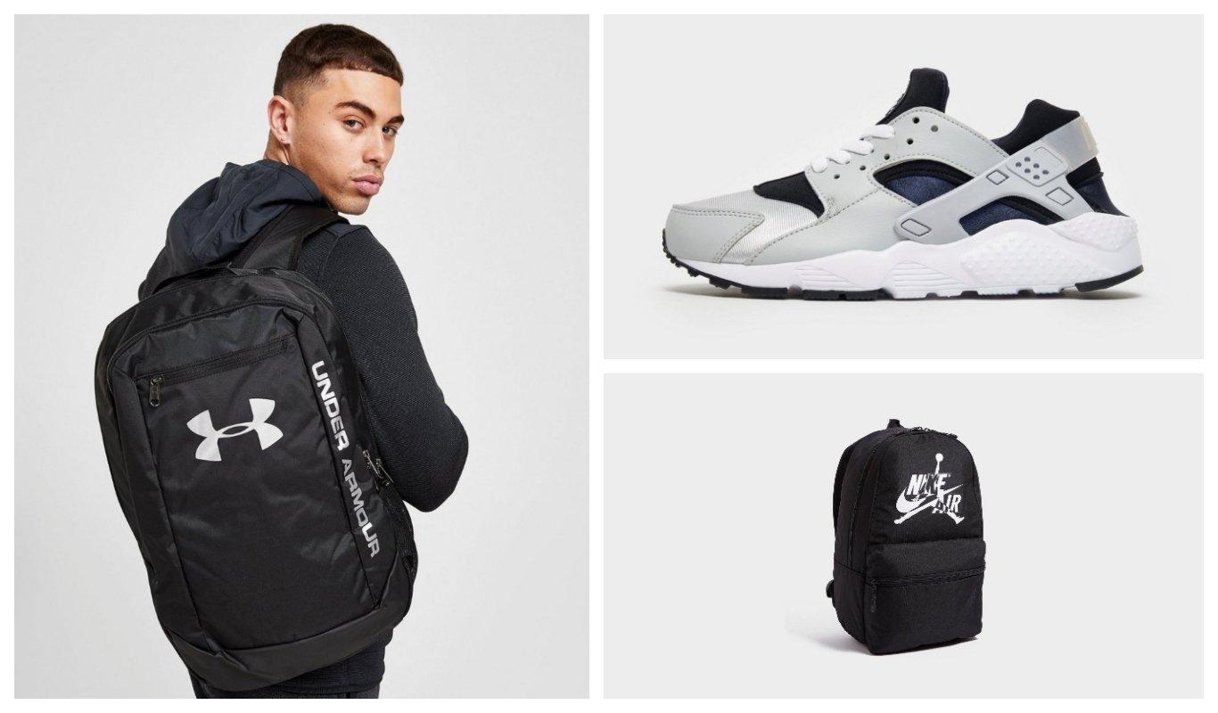 Under Armour, Jordan, Nike