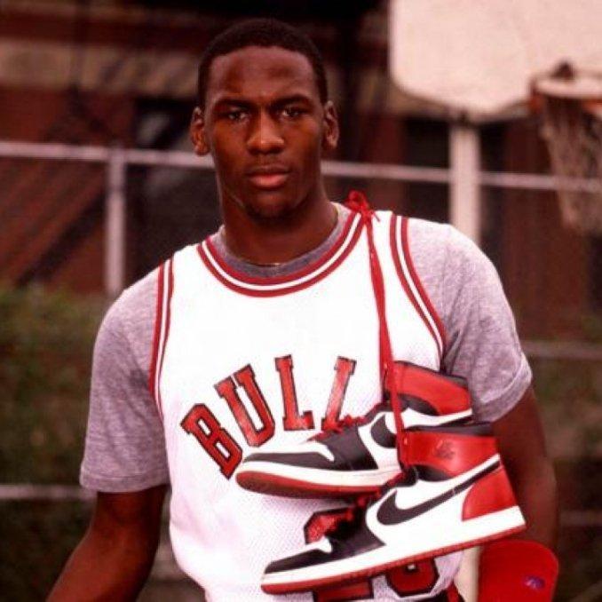 Air Jordan I ad