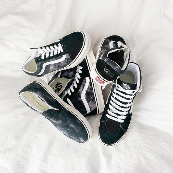 sneakers di primavera: Vans Old Skool e Vans Slip-on e Vans Sk8-Hi
