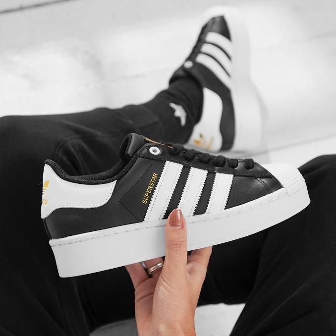 adidas Originals Superstar Bold sapatilas com plataforma