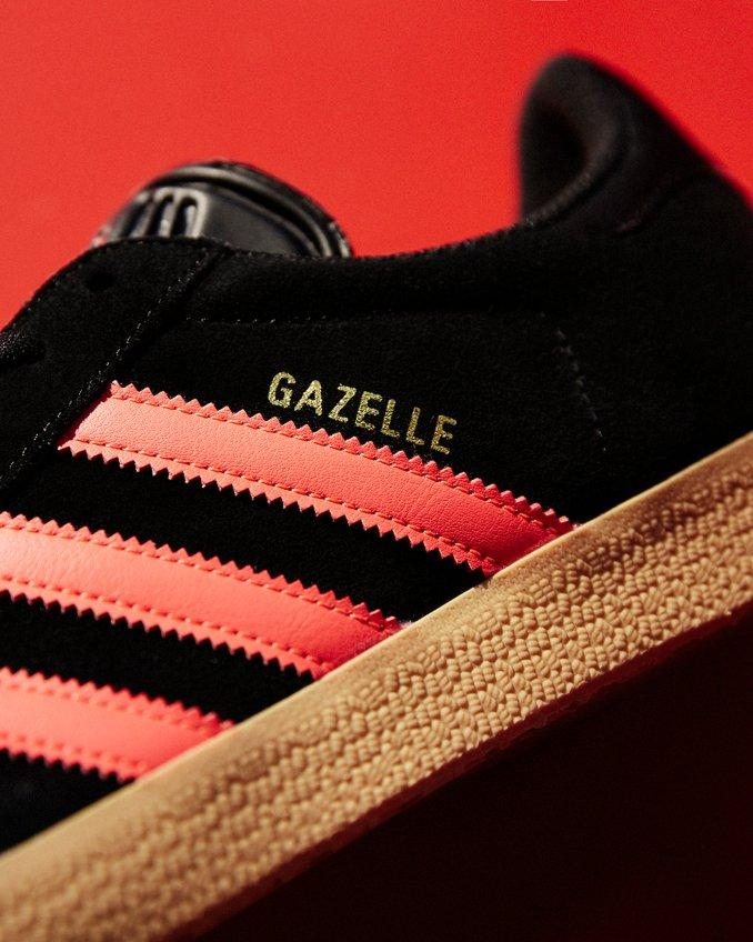 adidas Gazelle en detalle