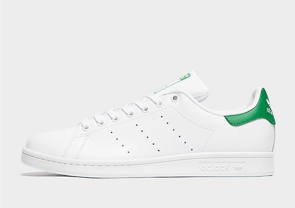 Adidas Stan Smith brancas e verdes