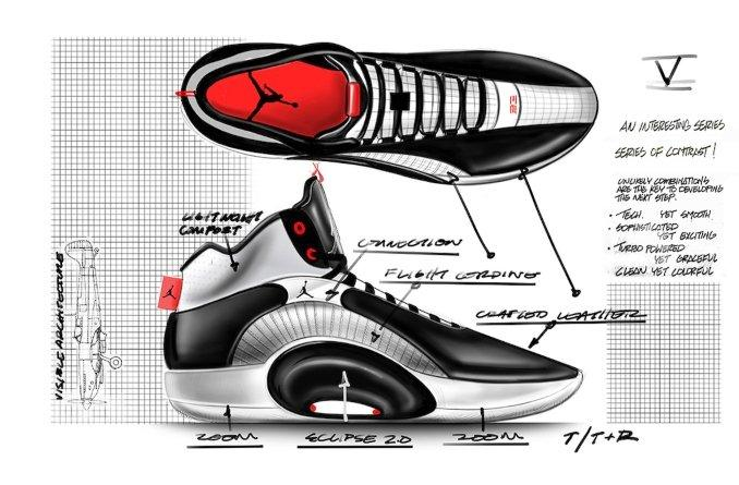 Air Jordan 35 Black / White / Chile Red