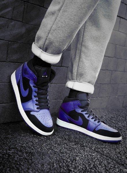 Air Jordan 1 blu