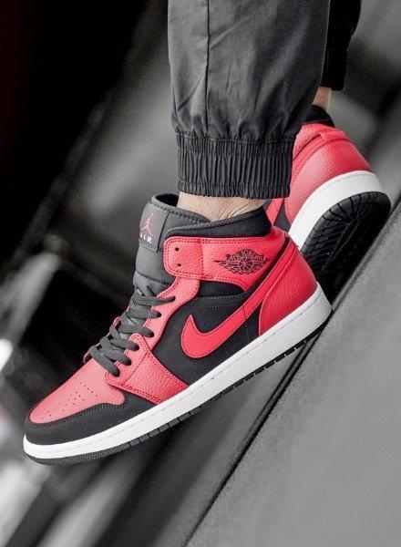 Air Jordan 1 rosso